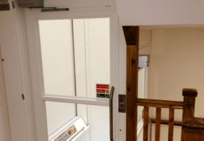 New Platform Lift for Care Home