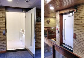 The Orchards Wyberton, Sheltered Housing gets a Platform Lift