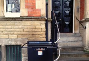 Stair Platform Lift for Dean Court Hotel in York