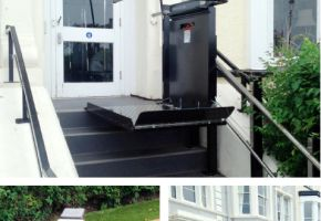 Llandudno Bay Hotel gets a stair platform lift