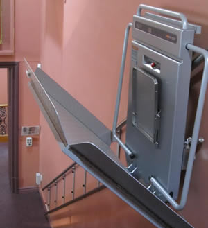 3rd Barrier Arm stair platform lift