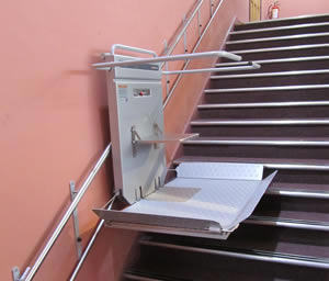 Optimum 200 stair platform lift