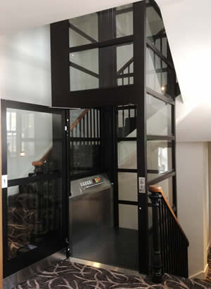 Enclosed Vertical Platform Lift Optimum 100 Ability Lifts